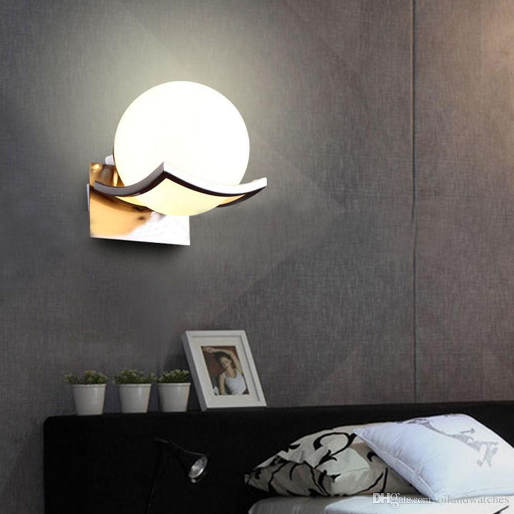 Charming 15cm Ball Wall Light Fixture Lamp Scone Glass Lampshade Bedroom Night Lights  Antler Chandeliers Bathroom Chandelier From Oilandwatches, $40.21|  Dhgate.Com