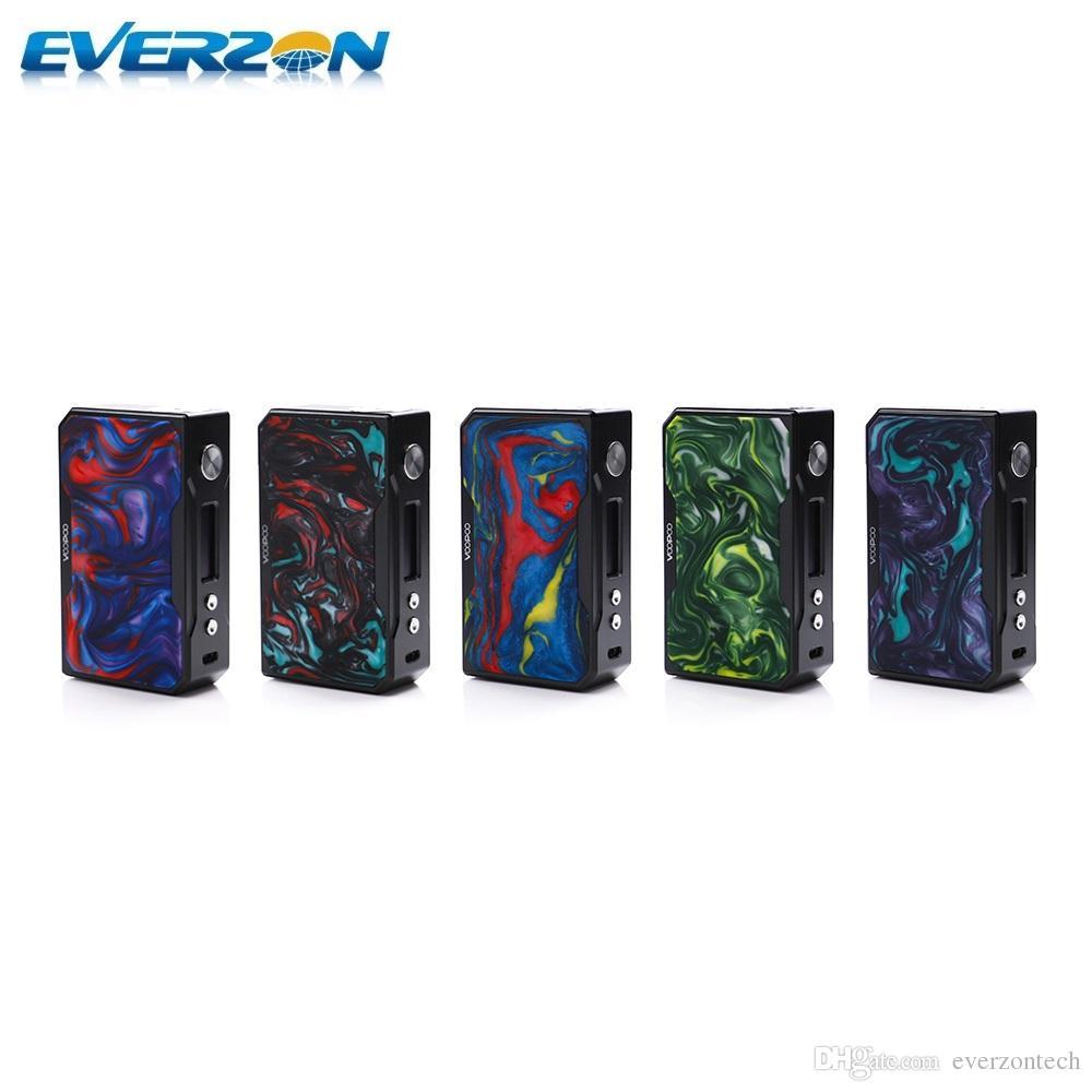 Compre Auténtico Voopoo Drag 175w Tc Box Mod Negro Resina Color Dual ...