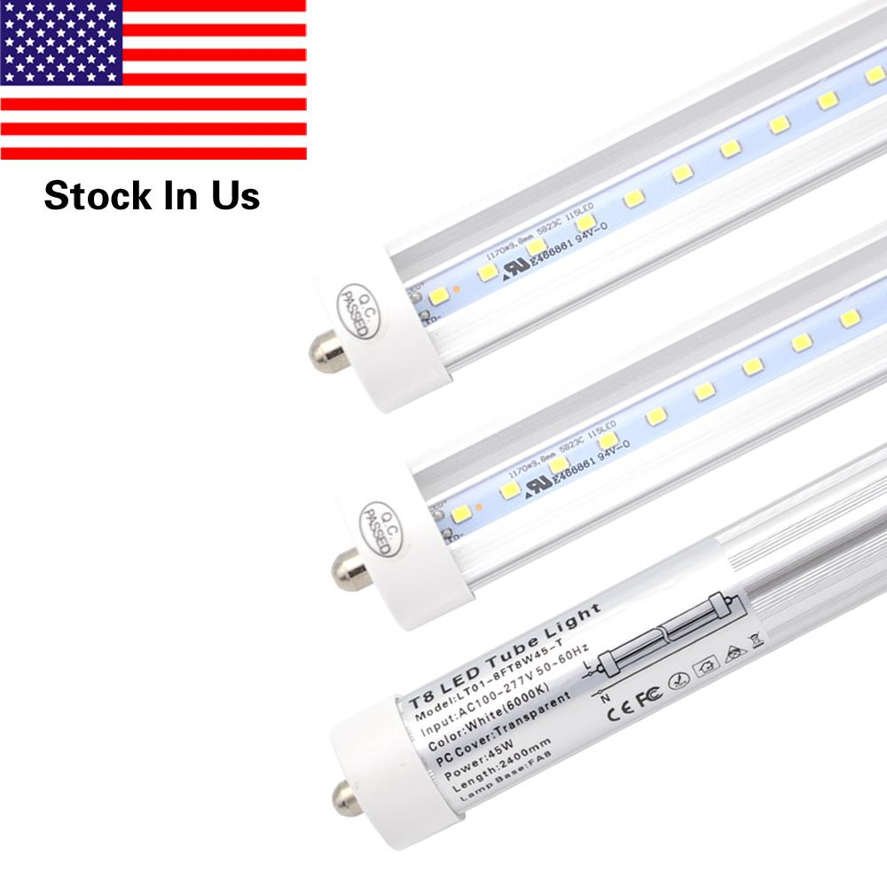 T8 Led Light Tube 8ft 45w Fa8 Single Pin Replacement Philips