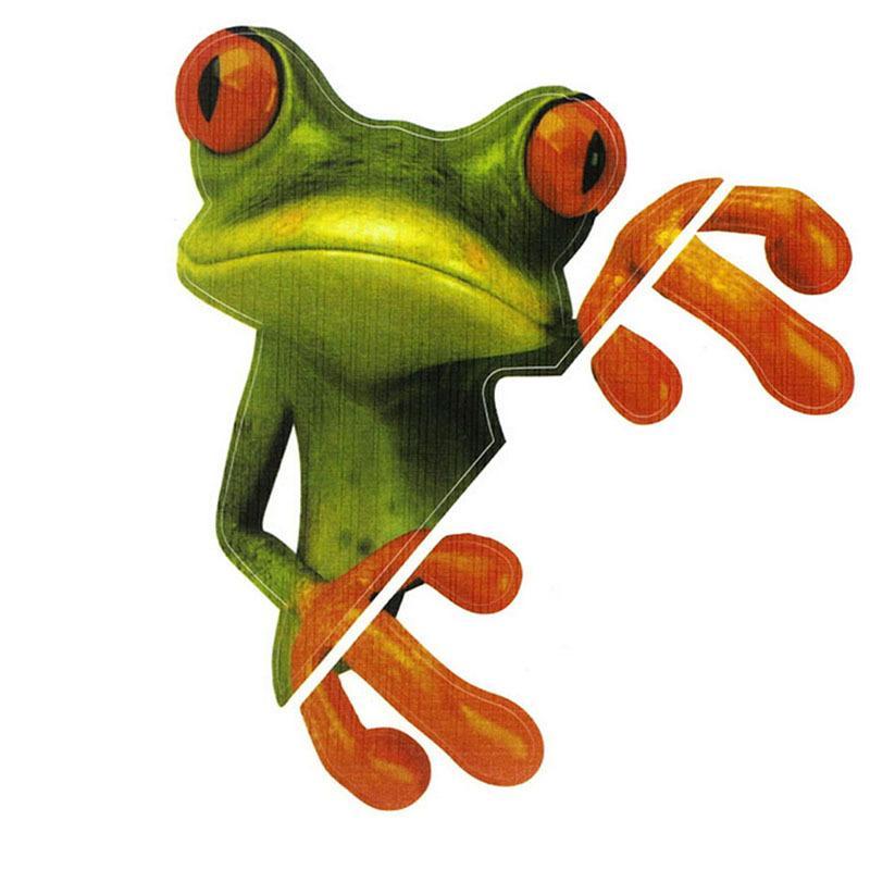New Funny Car Stickers Design 3d Cartoon Peep Frosch Peep Frosch