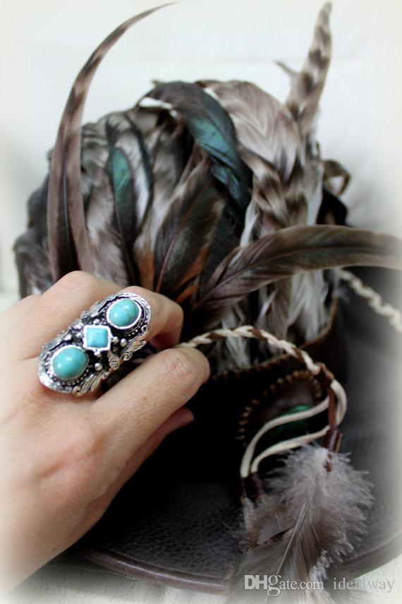 Anelli d'argento turchi personalizzati in stile turco con unico stile vintage