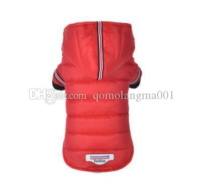 Pet Dog Winter Clothes Outdoor Waterproof Dog Jacket Hooded Coat Fashion Pet Costume Clothing Warm Coat For Chihuahua Top Quality