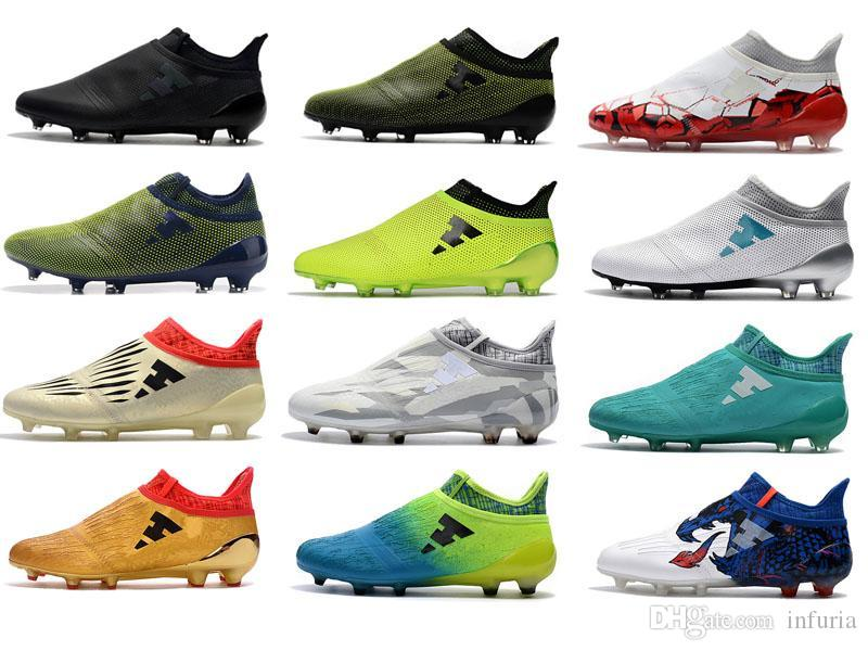 newest collection 7eba6 90225 Online Cheap 2017 Men X 17+ Purespeed Confed Cup Fg Soccer Shoes Football  Boots Mens Ace 17+ Purecontrol Soccer Cleats Soccer Boots Football Shoes By  .