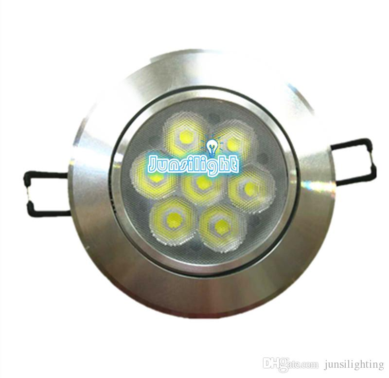 Cree LED Down Ceiling7WRecessed LED-Licht Strahler dimmbare LED-Downlights Lampen warmes Weiß 110-240V