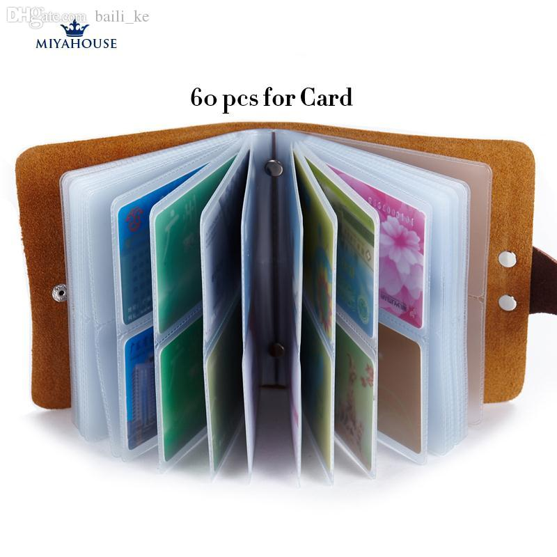 Wholesale Genuine Leather Card Holder Wallets Women Large Capacity ...