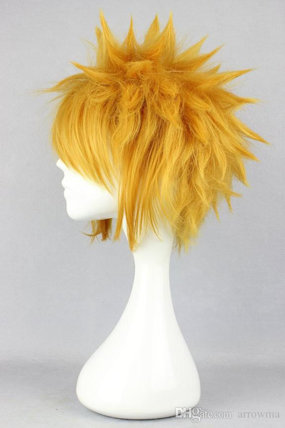 Naruto COS Cosplay Wigs 2016 For Halloween Cheap Hair Products Elegant Sexy New Arrive In Stock Boy Wig 30CM