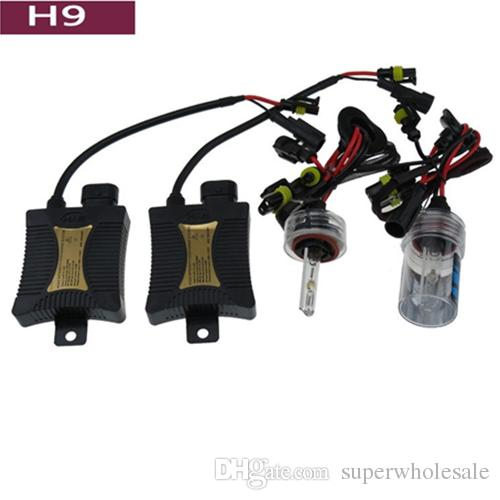 55W 6000K H1 H3 H4 H7 H8 H9 H10 H11 9003 9005 9006 9007 HID Xenon Headlight Conversion Kit Dual Beam Slim Ballast