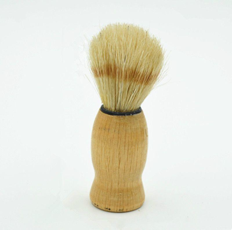 New Arrivlal Shaving Brush Perfect Shave Barber Hard Wood Handle Badger Hair SalonTool
