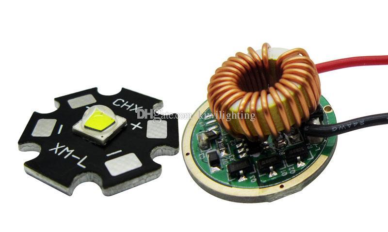 Cree XM-L2 6V светодиодный драйвер + XML2 6V белый 6500K светодиодный свет DIY