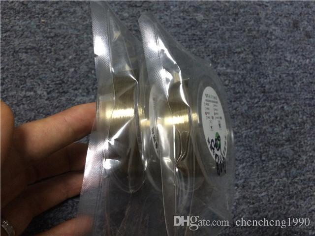 Alta qualità nuova linea di taglio filo / filo di molibdeno oro 0.08MM Iphone 4 / 4s / 5 6 6S Samsung S4 / S3 vetro separatore ristrutturare riparazione della macchina