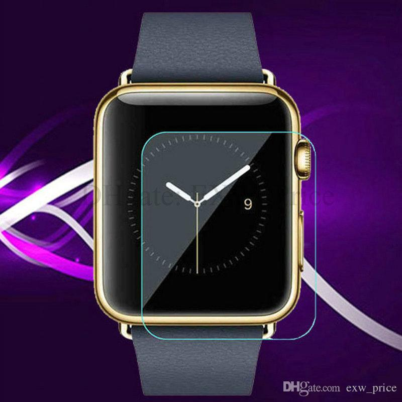 Tempered Glass Screen Protector For Apple iwatch 38mm 42mm for Samsung Gear S2 Gear S3 NO PACKAGE