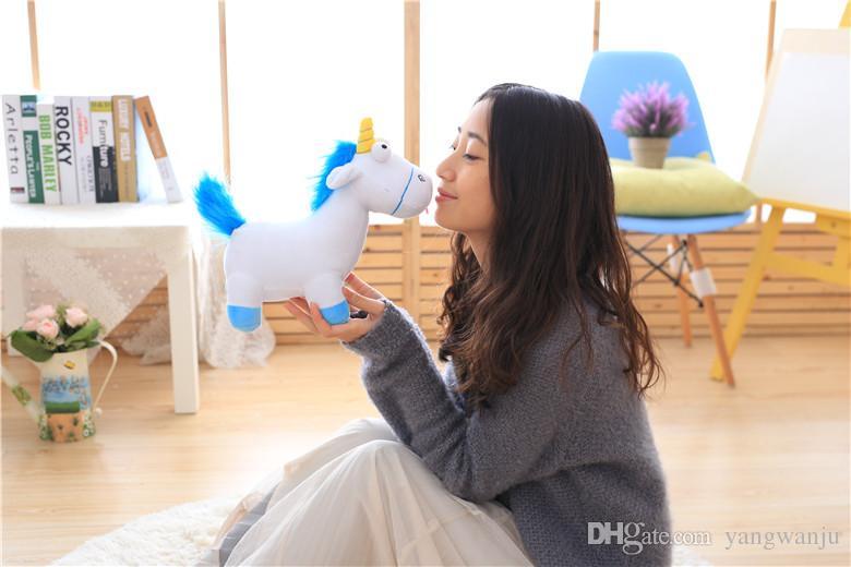 35cm Lovely Plush Unicorn Horse Dolls Stuffed Unicorn Plush Toys Gift for Kids Home Decor Cartoon Horse Toys