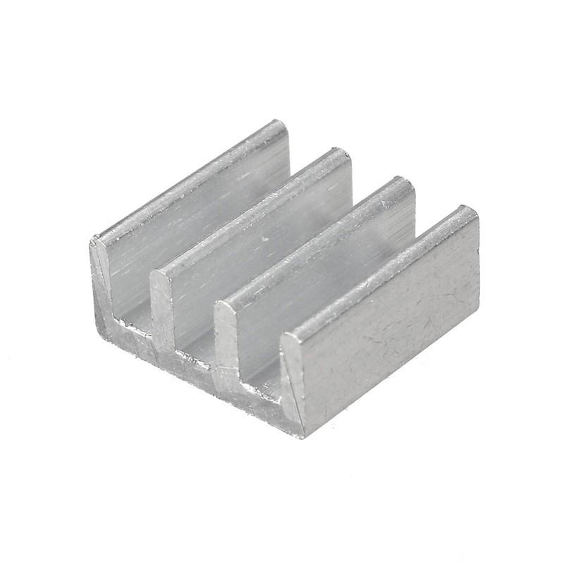 11x11x5mm High Quality Aluminum Heat Sink For Memory Chip IC H26 Cooling Fin Without Stickers