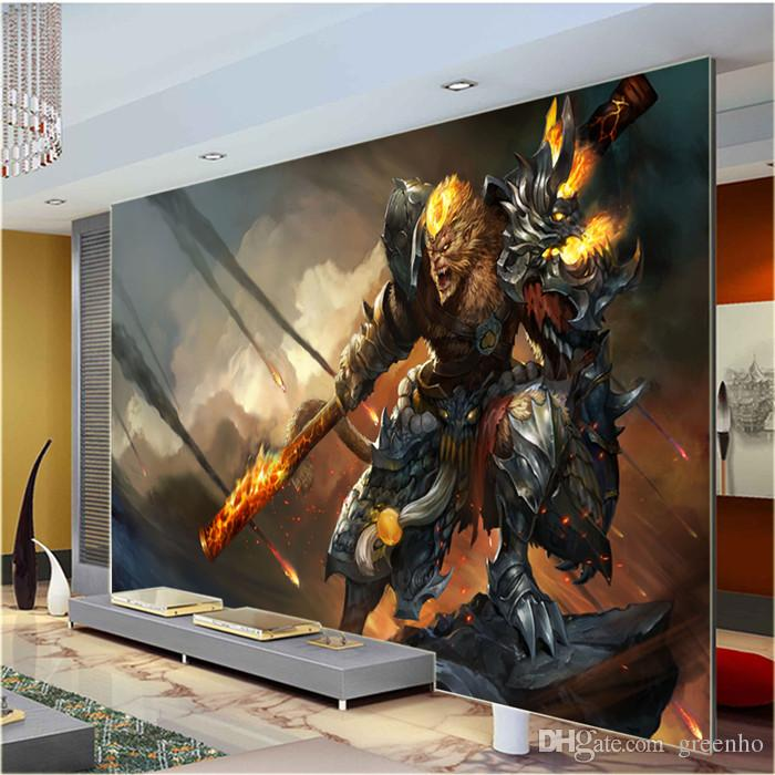chinese mythology wall mural monkey king game photo wallpaper artchinese mythology wall mural monkey king game photo wallpaper art mural decal wallpaper background living bedroom kids rooms high resolution wallpapers free