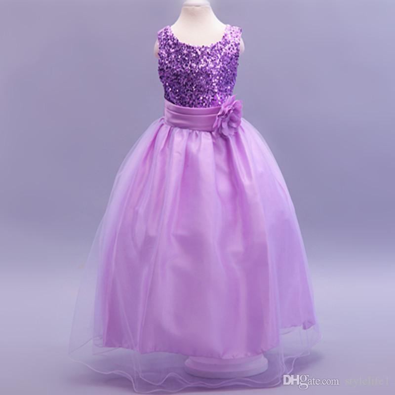 Compre 2015 Vestidos De Boda Más Nuevos De Los Cabritos, Muchacha De ...
