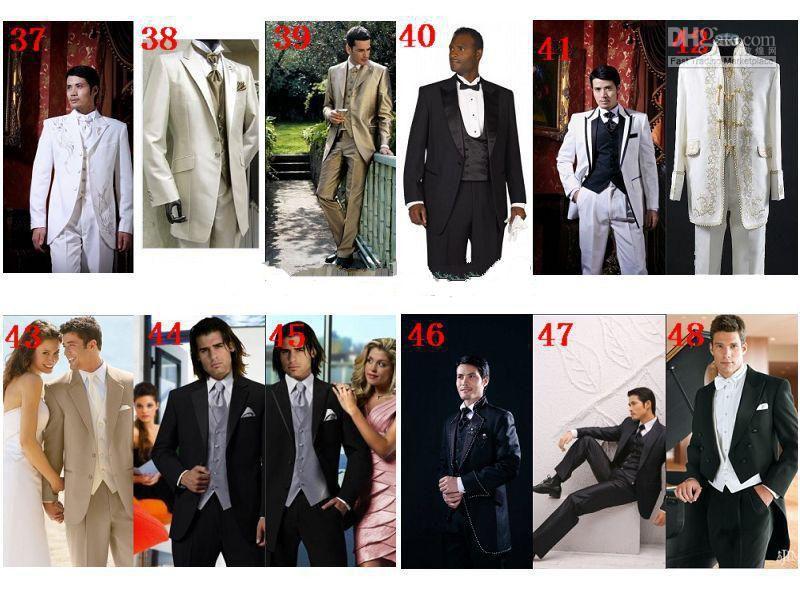 Vente chaude Rouge De smoking 2016 Pas Cher Costumes De Mariage De Mode pour hommes Costume Formel Marié Smokings Tailcoat Veste + Pantalon + Cravate