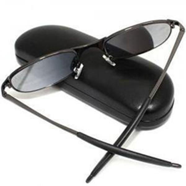 Gafas de sol antirradar traseras de moda gafas de sol portátiles antiparda Moniter Gafas de sol polarizadas para mujer con caja de venta al por menor