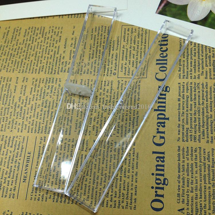 صندوق أقلام الهدايا الشفاف لأقلام الكريستال Pallpoint Pen Founture Promotion Penk Retail Box Package
