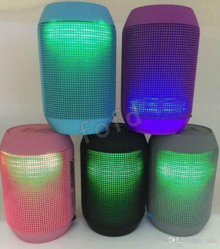 MY500BT Hoparlör hap Bluetooth Kablosuz büyük Ses Kutusu Desteği TF Kart Taşınabilir Mini Hoparlörler ile LED ışık 50 adet up