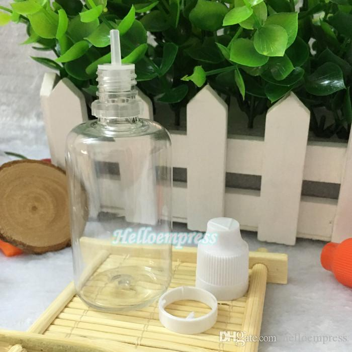 2017 톱 판매 눈 dropper 병 50 ml 애완 동물 플라스틱 전자 액체 병 제조 업체에서 뚜 뚜껑 분명 인감 및 아이 증거 캡