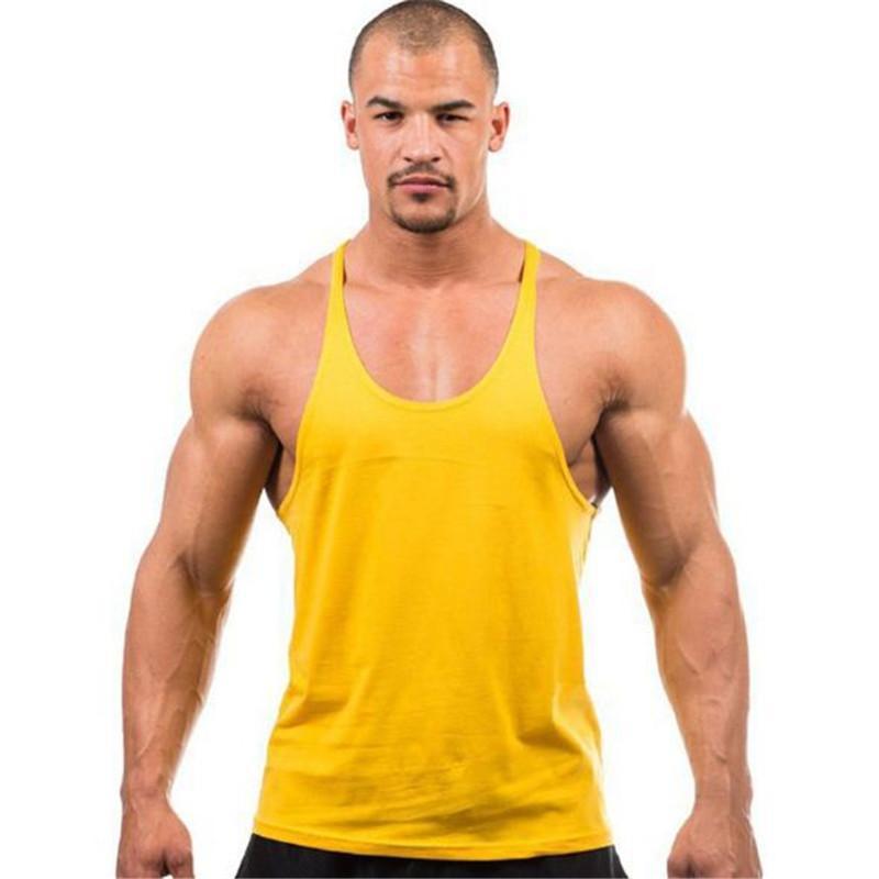 Neue ankunft männer Tank Top gym tank tops für männer Fitness Gym Tank Top shirt männer gym weste out310