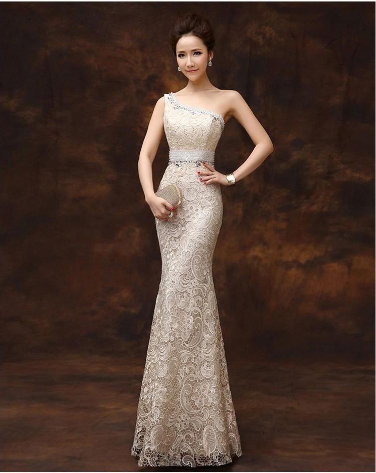 2015 Yousef Aljasmi New Formal Evening Dresses Mermaid Fishtail ...