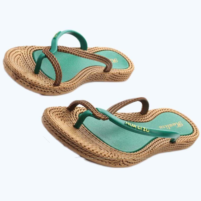 BIGTREE 2017 Summer Style Infradito da donna Sandali da donna Pantofole da spiaggia Calzature da spiaggia 6.7 LAG