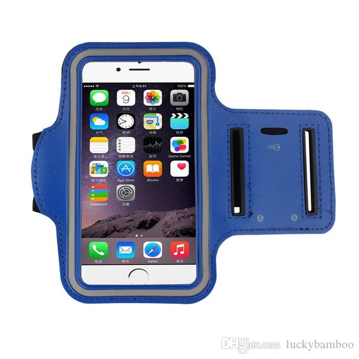 Free DHL hot sale Super Deal Band Gym Running Sports Arm Band Cover Case For iphone 6 4.7 Inch