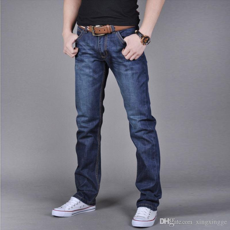 2016 Stylish Mens Slim Fit Jeans Trousers Classic Fashion Men'S ...