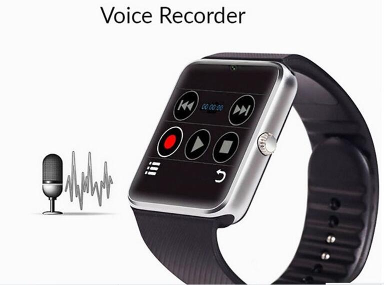 Original Smart Watch GT08 Plus Uhr Sync Notifier Unterstützung TF SIM-Karte Bluetooth-Konnektivität Android-Telefon Smartwatchs Legierung Smartwatch