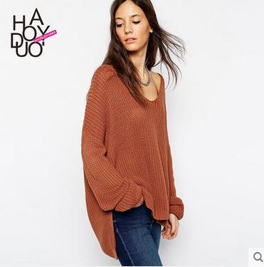 2018 2016 Autumn Winter Cashmere Sweater Women Fashion Sexy ...