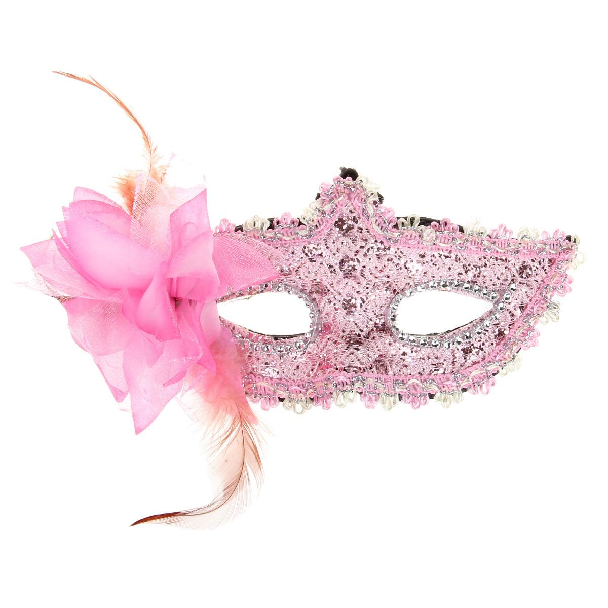 Women Half Faces Eye Masks Halloween Masquerade Masks Mardi Gras ...