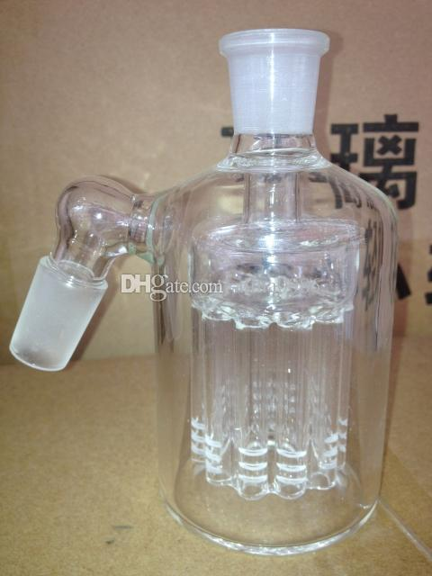 Classical Ash Catcher come near 45 degree 11 Arms Perc 14-14 18-18 thick 4mm heavy ashcatcher for bong
