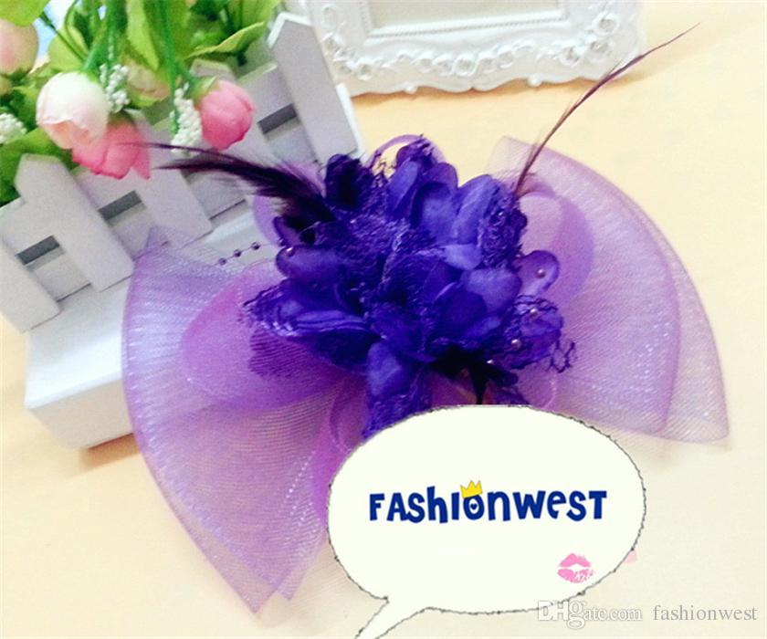 Chapeau de l'église nouvelle dentelle d'été des femmes et fil de mariage de fil de chapeau de mode Femmes belle et plus de chapeau de soleil de couleur