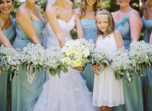 Artificial Bridesmaid Flower Gypsophila BabyS Breath For Wedding