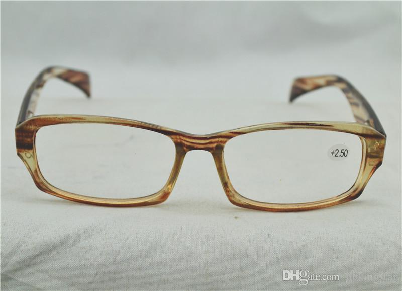 094a08ee06598 Compre Moda Super Light Unisex PC Óculos De Leitura Barato Mulheres  Primavera Dobradiça Óculos De Leitura Dioptria + 1.00 + 4.00 Frete Grátis  20 Pçs   Lote ...
