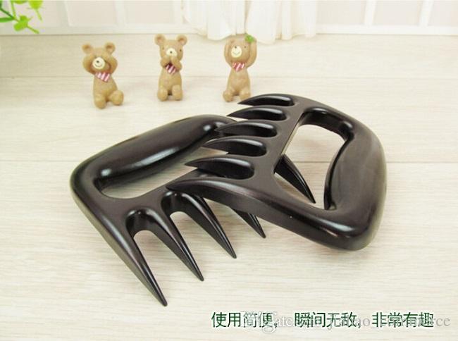 Küchengeräte Grillgeräte Bear Paws Fleischhandler Gabeln mit Klauen Fleisch Klauen Bear Claws Pork Floss Maker