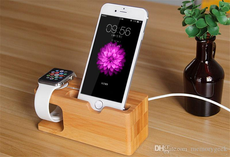 2018 Phone Holder For Apple Watch Qi Wireless Charger