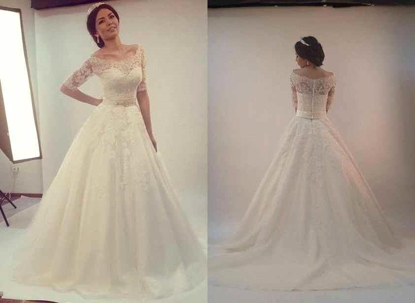 Discount Vestidos De Novia 2016 Vintage Boho Wedding Dresses Scoop A ...