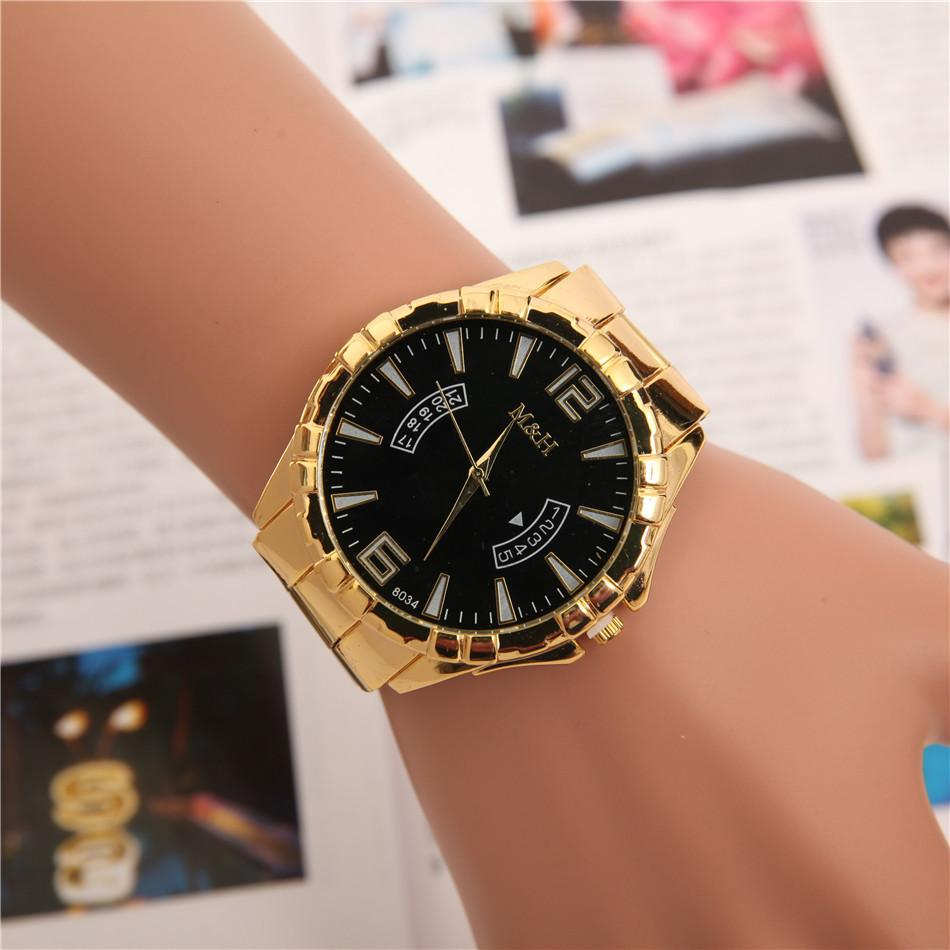 belt quartz brand top store watch stopwatch relogies luxury watches fake strap gold steel stainless crystal product calendars