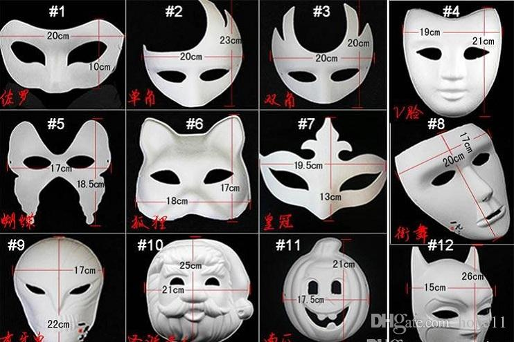 Average Cost Of A Crown >> Best Diy Mask Hand Painted Halloween White Face Mask Zorro ...