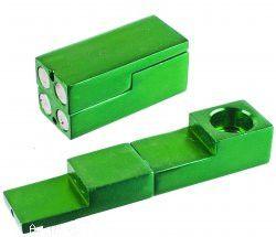 Métal Pipe Magnétique Métal PipeTinkSky Mini Type Pliable Métal Aimant Cigarette Tabac Pipe Aimant Pipe Pliante
