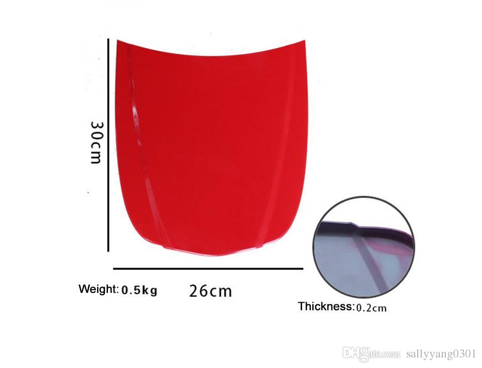 Металлическая форма скорости автомобиля 26 * 30 см CAR CONNET MINI окрашенный капот для автомобильного стеклянного покрытия дисплей MO-179C-1 с краской 5 шт. / Лот