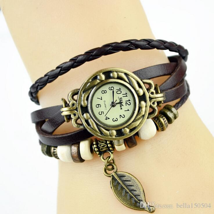 a9c715b73d3 Infinity Watches Weave Bracelet Watches Lady Wrap Watches Love Cross ...