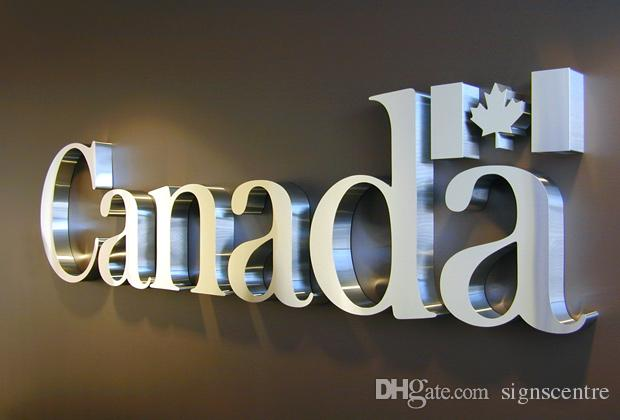 Steel Letters For Signs 2018 Stainless Steel Letters Channel Letters Metal Letters 3D