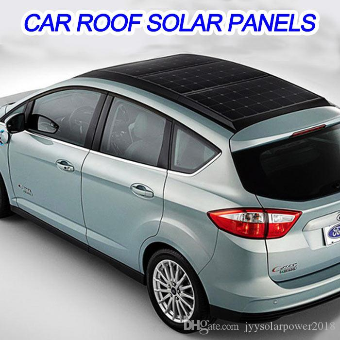 Solar Panels For Car Soft Substance Charger Sunpower