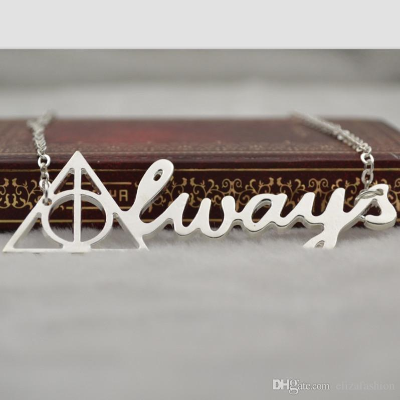 Wholesale Harry Potter Always Deathly Hallows Pendant Triangle