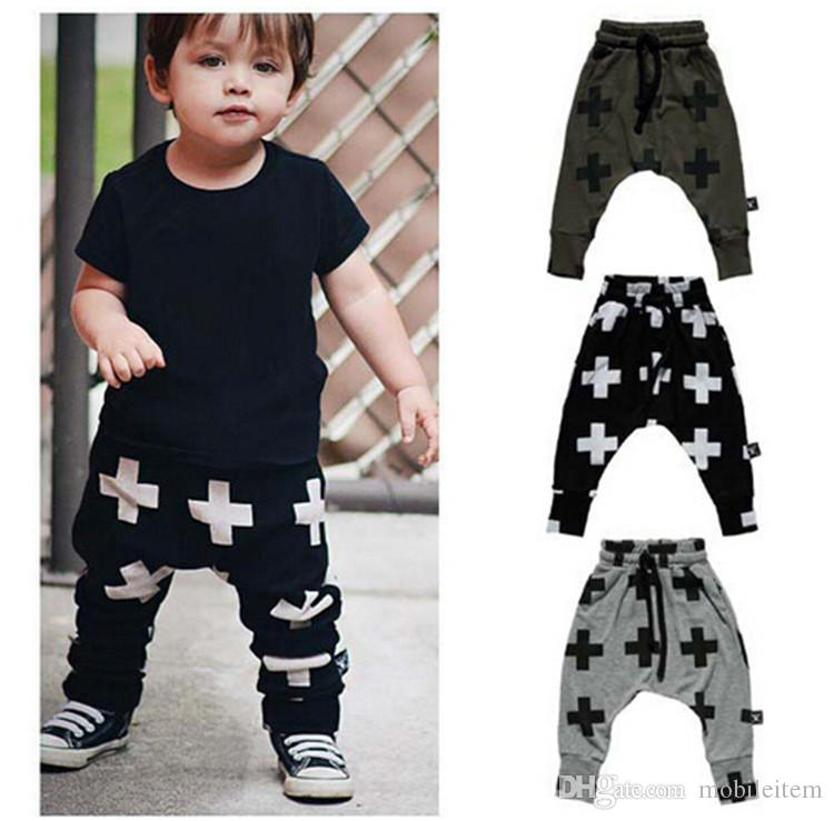 Girls Boy Toddler Child Fashion Boys Pants Trousers Leggings Cross Star Hip  Hop Children Harem Pants For Trousers Baby Clothes 56 Canada 2019 From ... 1edfe3fcb27