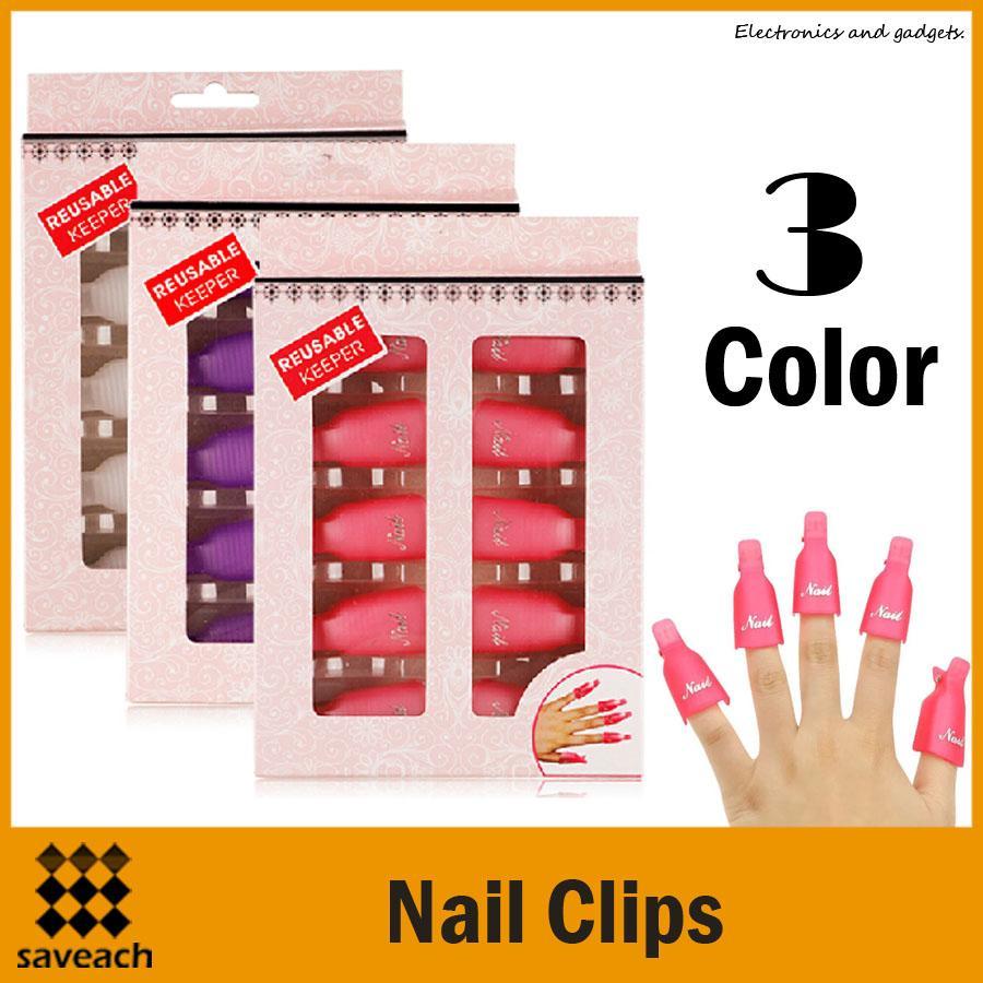 Salon Diy Nail Art Tool Gel Off Reusable Keeper Acrylic Uv Gel Nail ...