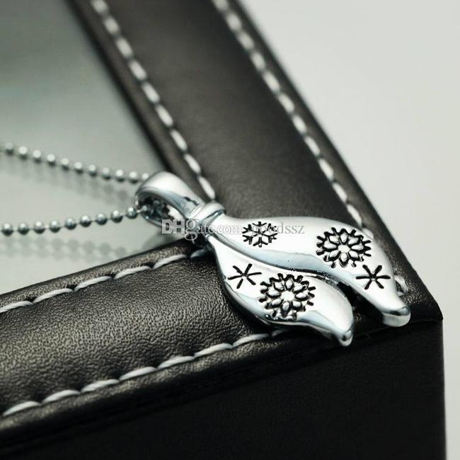 펜던트 목걸이 레터링 눈송이 패션 유럽 미국 스타일 크리 에이 티브 개성 목걸이 50cm 12g 의류 장식 액세서리